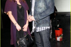 Jensen and Danneel after the premiere at Katsuyas