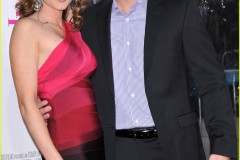 """Jensen and Danneel at the premiere of \""""The Back-up Plan\"""""""
