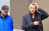 Supernatural's  Jared Padalecki heading to the set 11/06/2014
