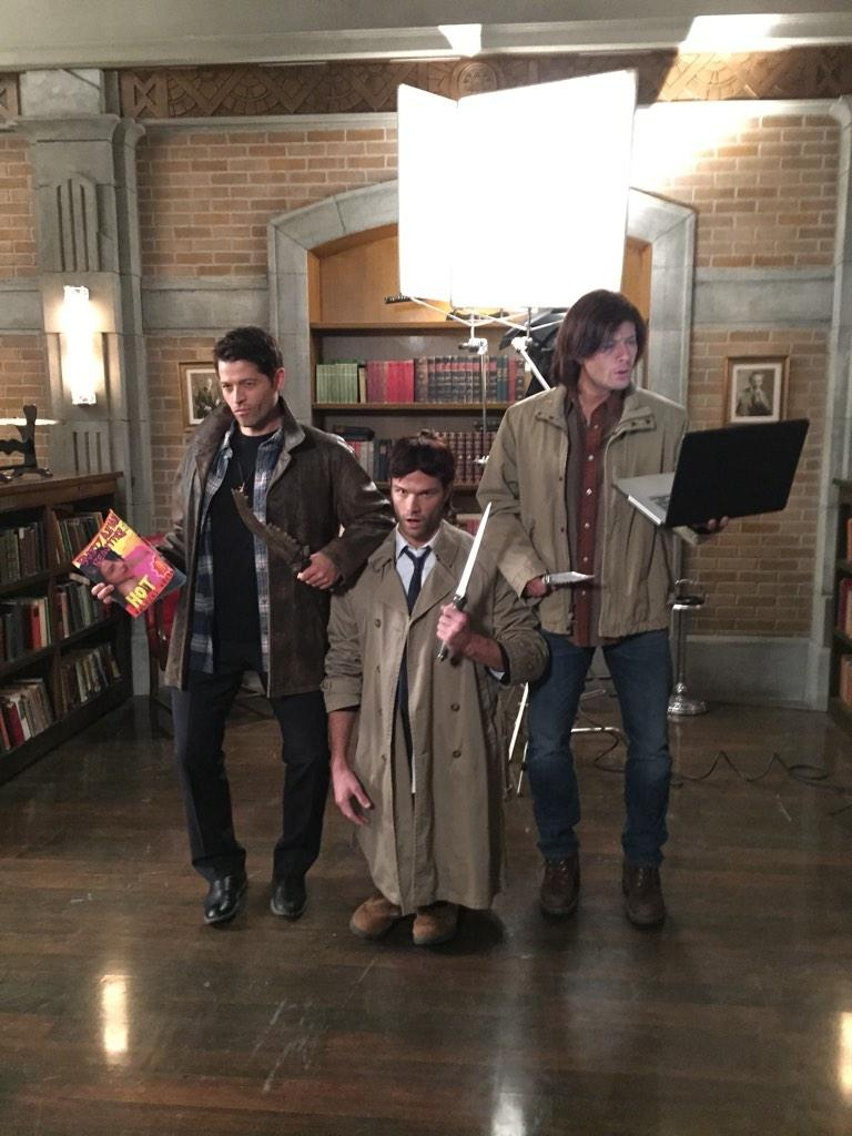 Supernatural Cast & Crew go Halloween! Do you know who is who?