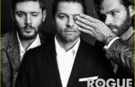 Supernatural's Jensen, Jared & Misha do Photoshoot for Rogue Magazine