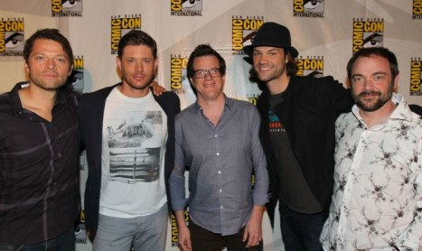 Supernatural rocks SDCC, NERDHQ – Pics, Misc. Tweets