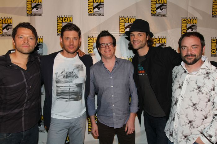 Supernatural rocks SDCC, NERDHQ - Pics, Misc. Tweets