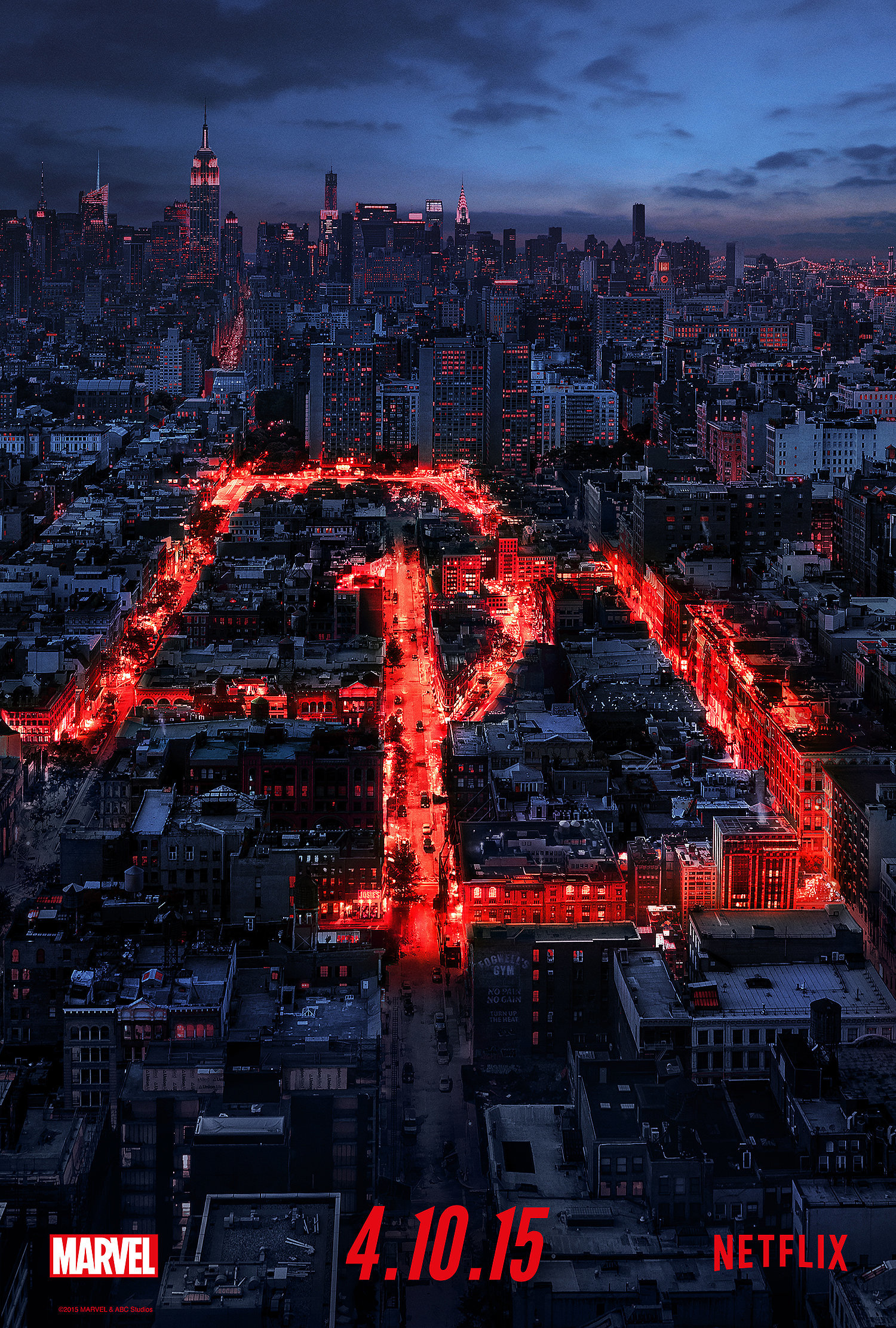 Netflix - Daredevil - Official Trailer, Character Posters