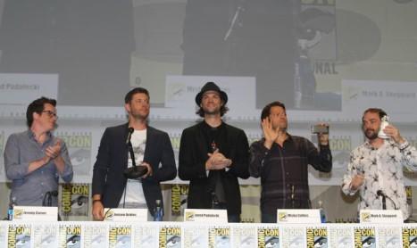 Supernatural SDCC 2014 Full Panel Video HQ