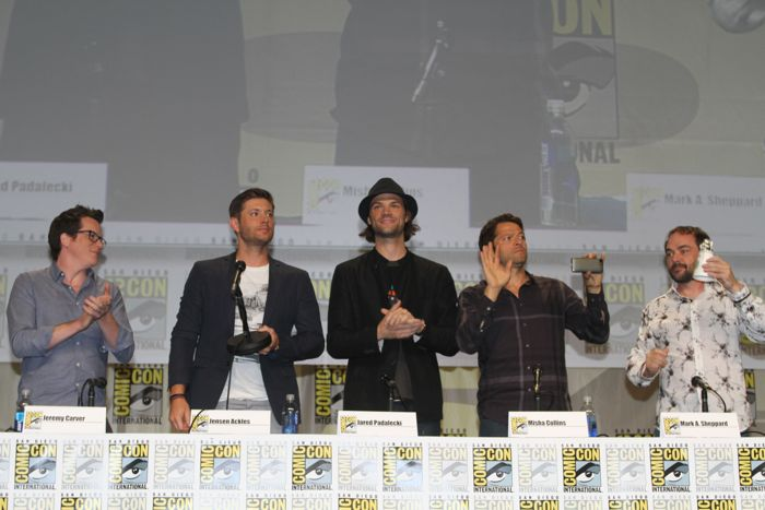 Supernatural SDCC 2014 Full Panel Video HQ
