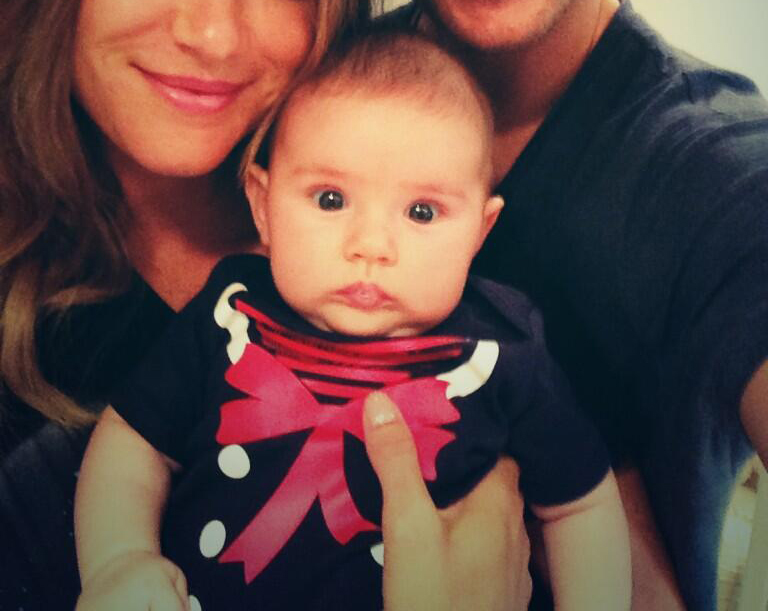 Finally, an official picture of the Ackles Family!