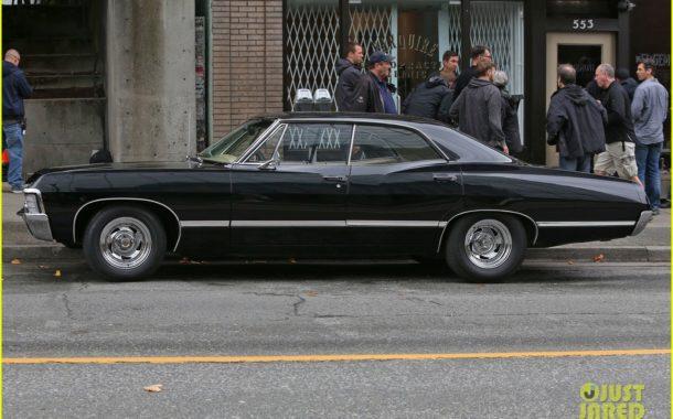 Supernatural - Jensen & Jared BTS Shooting Season 12 - 09/02/2016