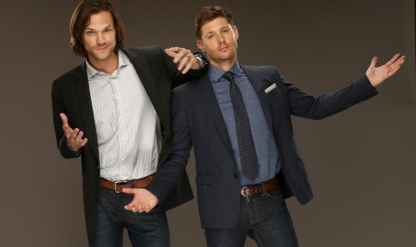 Supernatural – Jensen and Jared TCA 2014 Photoshoot