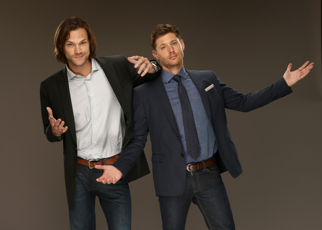 Supernatural - Jensen and Jared TCA 2014 Photoshoot
