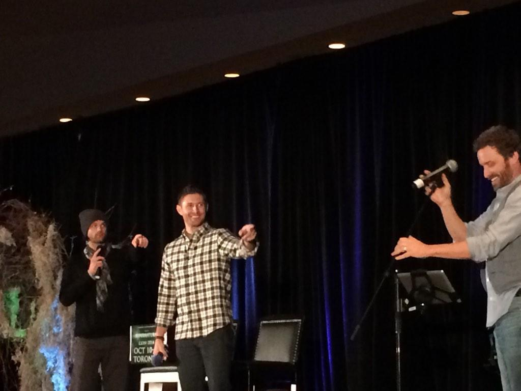 Supernatural TorCon 2014 J2 Gold Patron Panel Tweet Summary