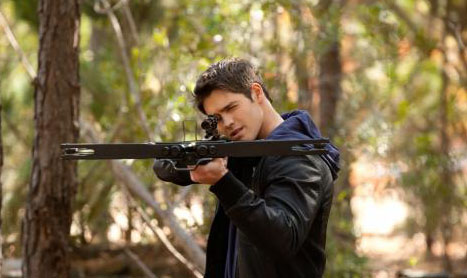 The Vampire Diaries - Interview Steven R. McQueen - Magazine Scan (Spoiler)