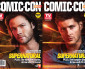 2013 WBSDCC TV Guide Covers – incl. Supernatural's Sam and Dean Winchester