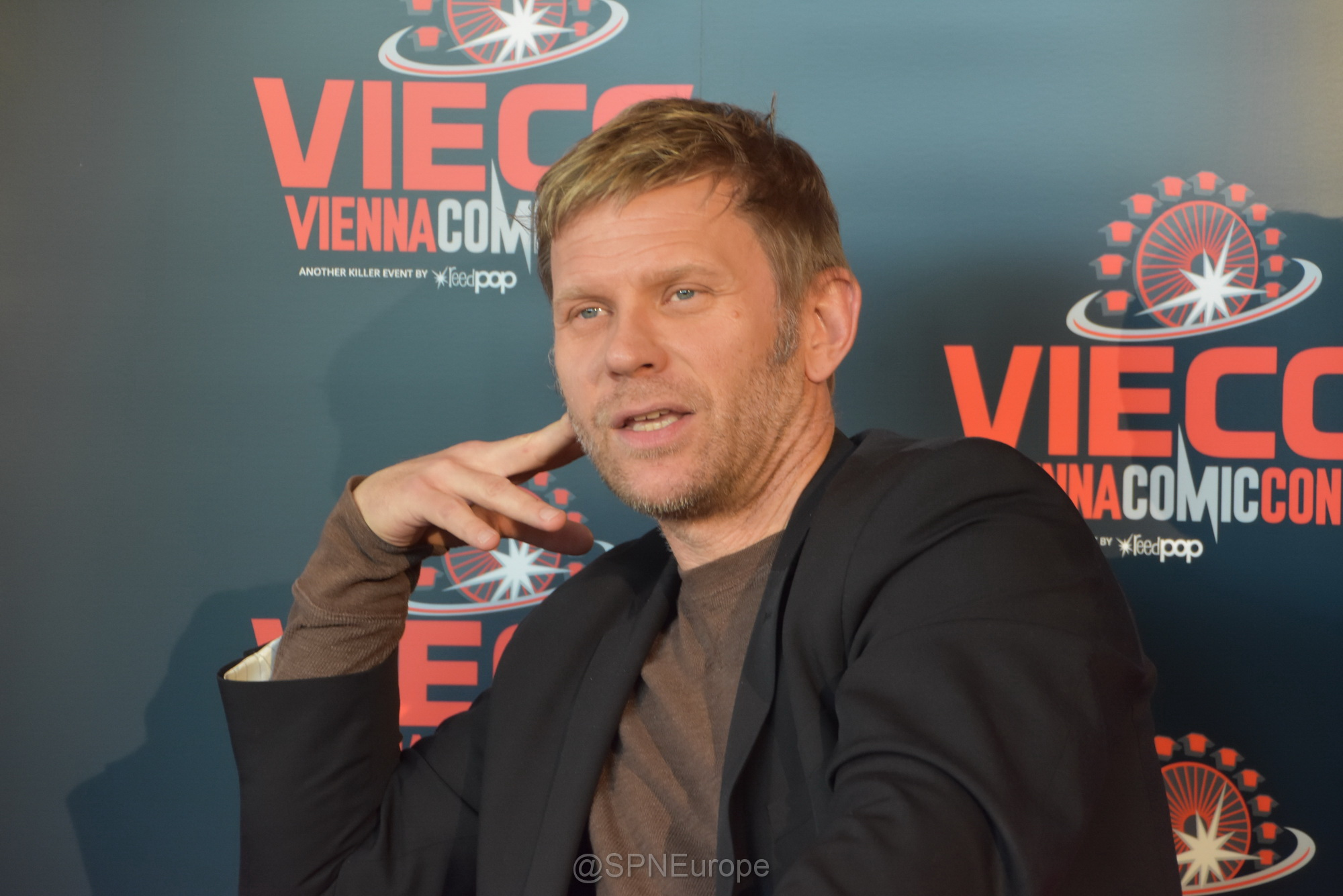 Mark Pellegrino at VIECC 11/20/2016