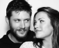 "Jensen and Danneel wishing ""Happy New Year!"""