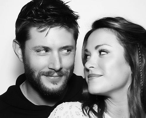 Jensen and Danneel wishing